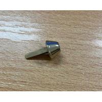Ножки для сумки цвет серебро диаметр 9,5мм