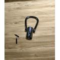 Держатель для ручки черный диаметр 11мм общая длина 56 мм колокол 25мм