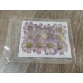 Брошка из кожи натуральной лилия брошь заколка цветок Каприз