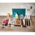 Набор для работы с кожей 38 предметов