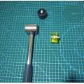 Киянка резиновая для работы с кожей 40 мм