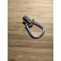 Держатель для ручки серебро диаметр 11мм общая длина 56 мм колокол 25мм