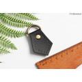 Рукодержатель для ручки сумки черного цвета с углом на конце 5см*3.5см с кольцом на конце