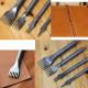 Пробойники шаговые инструмент для работы с кожей, все для рукоделия, инструменты для кожевников, инструмент для работы с кожей купить украина